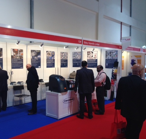 Bibby Scientific Middle East stand at ArabLab 2014