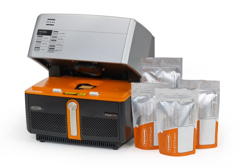 Real-time PCR system with Dekkera bruxellensis 26S ribosomal RNA test kit